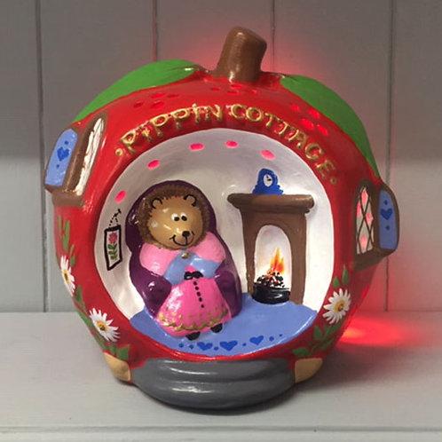 Handmade Ceramic 'Pippin Cottage' Children's Nightlight