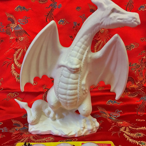 'Paint Your Own' Kit 26 - Standing dragon