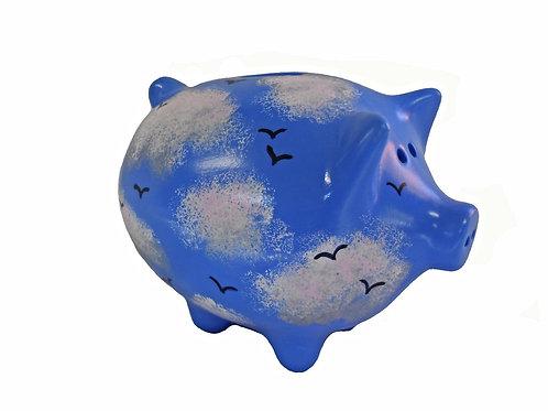 Blue Skies Piggy Bank