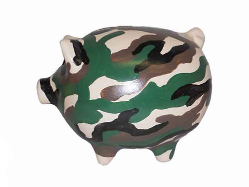 Camouflage Piggy Banks
