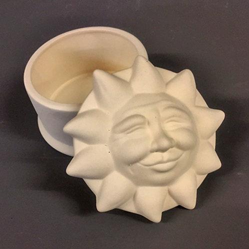 'Paint Your Own' Kit 184 - Sun trinket box