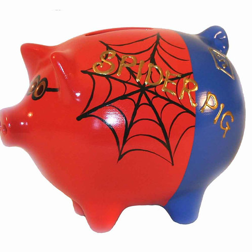 Spider Pig Piggy Bank