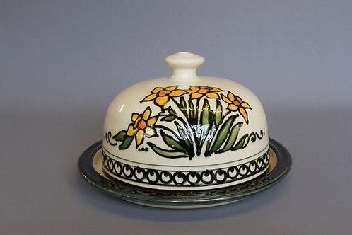 Hand-thrown Daffodil Cheese Dish