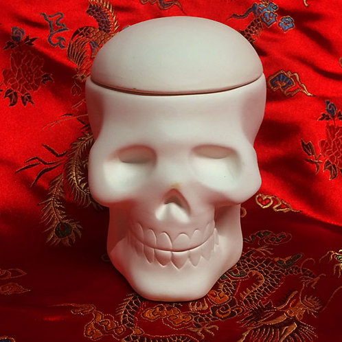 'Paint Your Own' Kit 102 - Skull trinket box