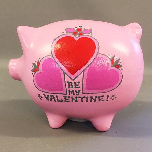 Be My Valentine Piggy Bank
