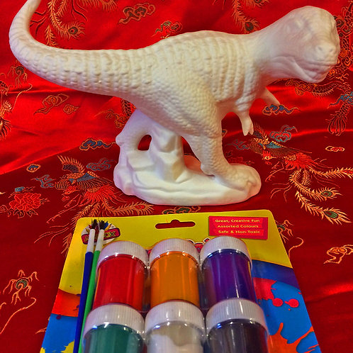 'Paint Your Own' Kit 27- T-rex Dinosaur