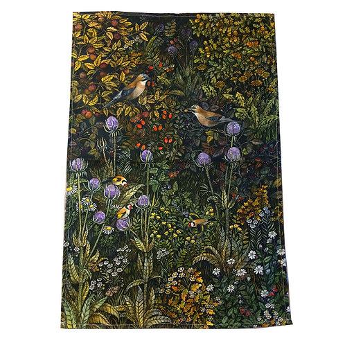 Jays Tea towel featuring Barbara Winrow original print