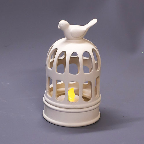 'Paint Your Own' Kit 176 -Birdcage tealight holder