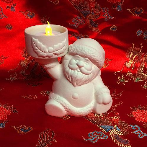 'Paint Your Own' Kit 160 -Santa tealight holder