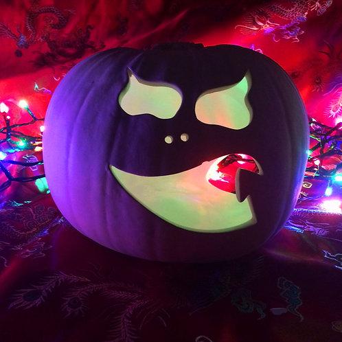 'Paint Your Own' Kit 119 - Large Pumpkin Lantern8
