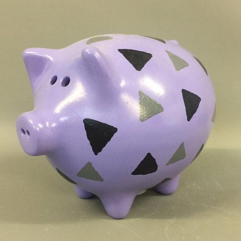 Triangles Piggy Bank
