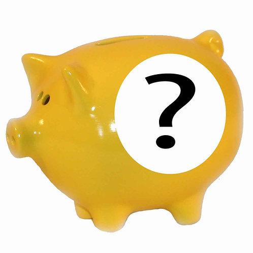 Plain Piggy Bank