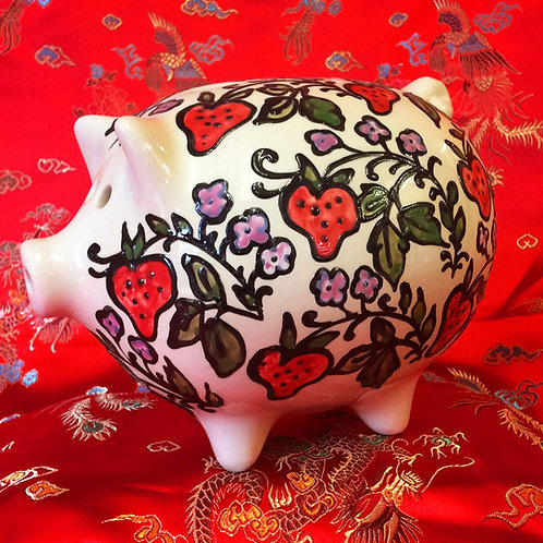 Strawberry Piggybank
