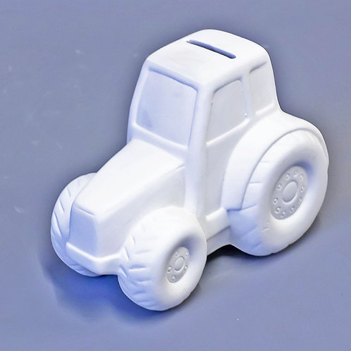 'Paint Your Own' Kit 173 -Tractor money box