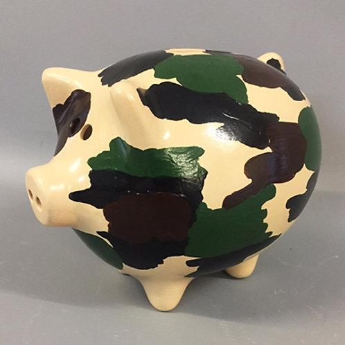 Camouflage Piggy Banks