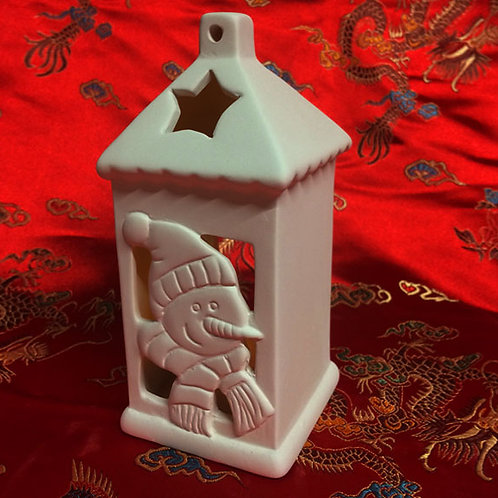 'Paint Your Own' Kit 103 - Christmas Lantern Tealight