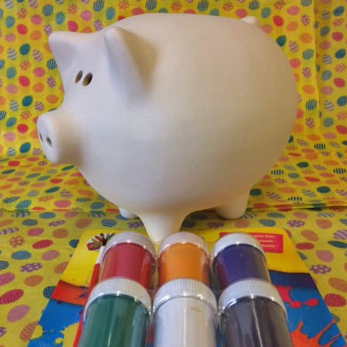 'Paint Your Own' Kit 9 - Piggy Bank