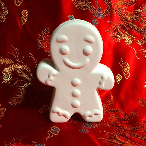 'Paint Your Own' Kit 161 - Gingerbread  Man Moneybox