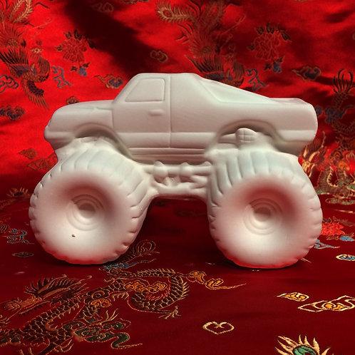 'Paint Your Own' Kit 157 -Monster truck money box