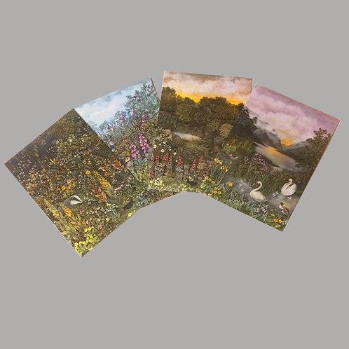 Post Cards Original Barbara Winrow designs