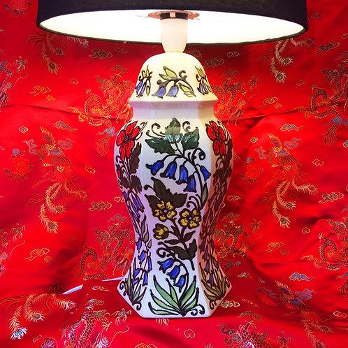 Wild flower table lamp