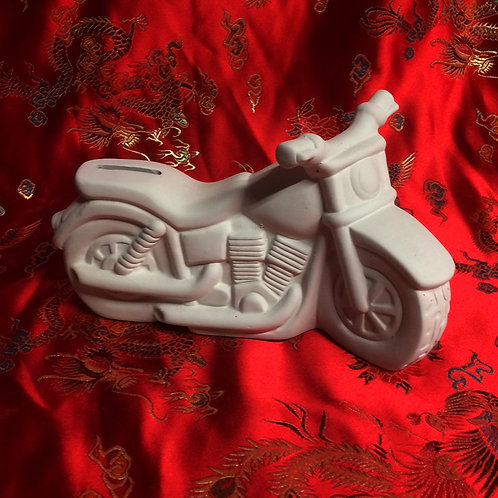 'Paint Your Own' Kit 142 -Motorbike money bank
