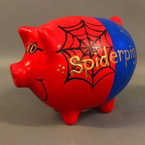 Spider Pig Piggy Bank