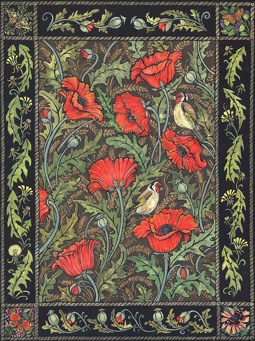 Limited Edition Poppies Print