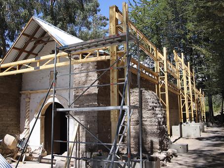 Al rescate de un tesoro comunitario: avanza Restauración Iglesia Virgen de la Asunción de Ticnámar