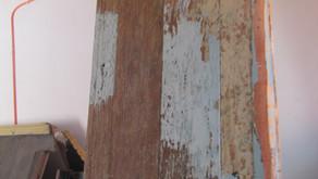 [FOTOS] Restauración en Carpintería del templo Apóstol Santiago de Belén