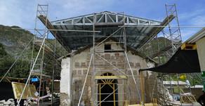 Proyecto de Restauración de Iglesia San Santiago alcanza el 25% de avance en obras