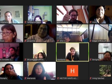 Con reuniones online sesionó Comité del Proyecto en mayo