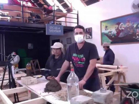 Equipo de obra recibe capacitación a través de Escuela Taller en Arica Barroca