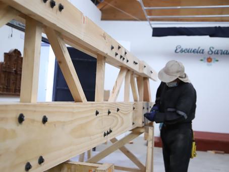 Proyecto de Restauración en Ticnámar: Sobrecubierta, promoviendo la reutilización