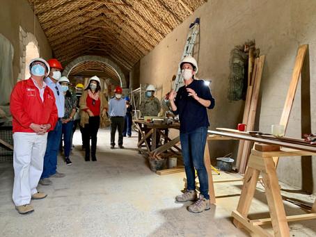 A paso firme avanza obra de rescate y restauración de iglesias de Belén