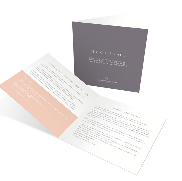 Aftercare Brochure