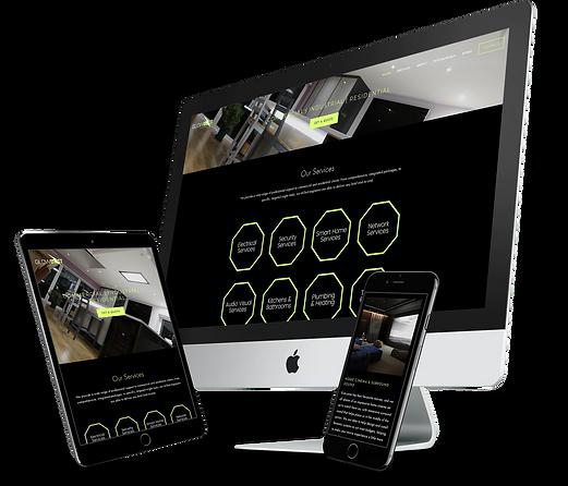 Glowbolt Group Website