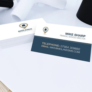 Mortgage Advisor Business Cards