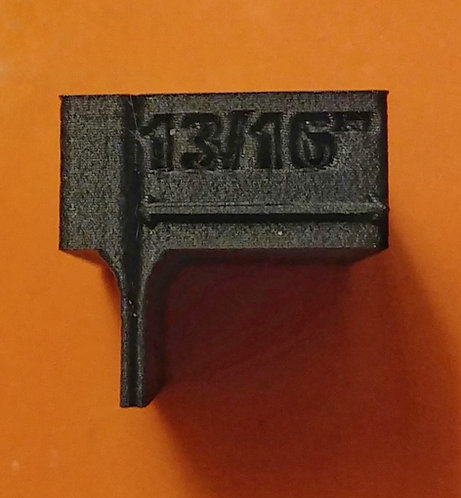 13/16ths gauge block