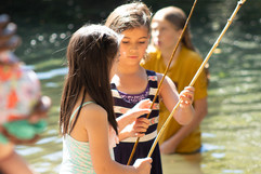 Fishing at the Festival of Tents