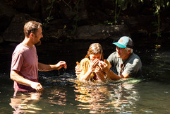 Baptism at the Festival of Tents