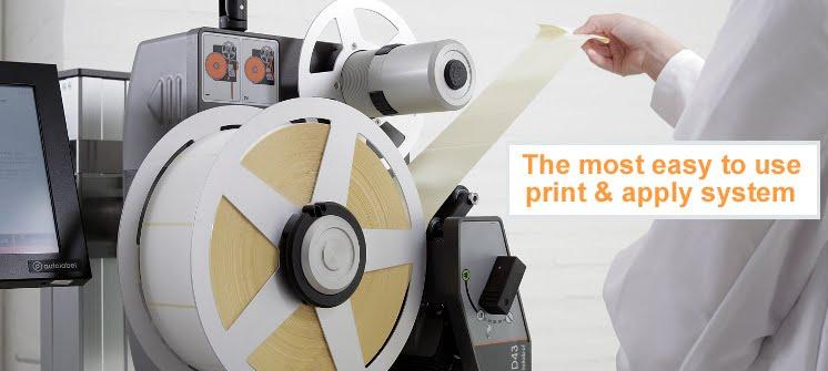 D43 Direct Thermal Printer