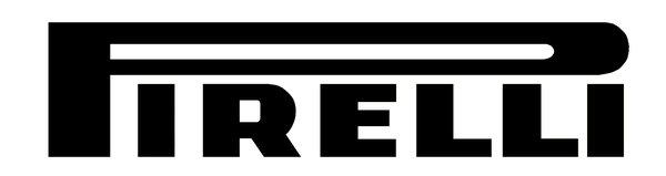 Pirelli (black) sign