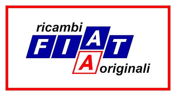 FIAT ricambi originali (Original Parts) 1970s metal sign