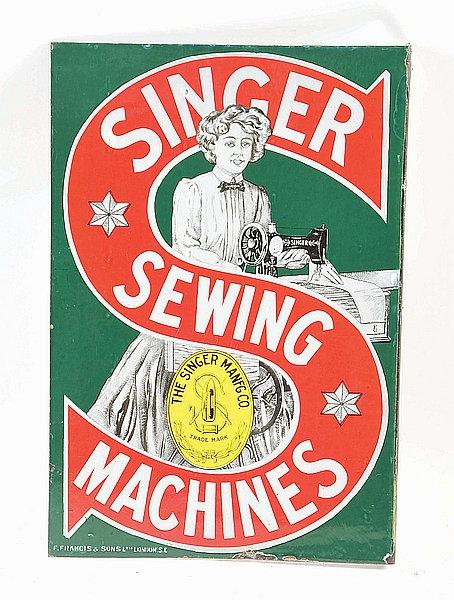 Singer Sewing Machines metal sign