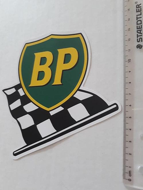 BP Racing Flag Sticker