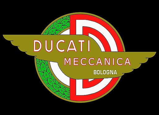 Ducati Meccanica Bologna metal sign