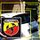 Thumbnail: Abarth badge (square) sign
