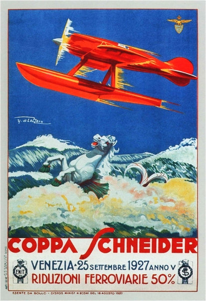 Coppa Schneider Seaplane 25 September 1927