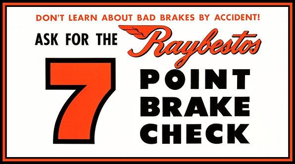 Raybestos, 7 Point Brake Check